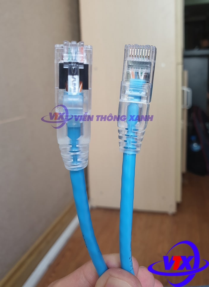Dây nhảy COMMSCOPE/AMP Cat5e 2m - Patch cord COMMSCOPE/AMP
